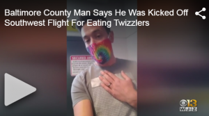 Avi Mandel, Twizzlers and Southwest Airlines Go Viral