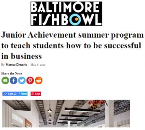 MD Education Department Awards $80K for Junior Achievement Summer Business Program